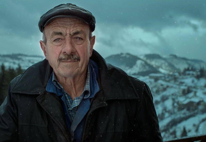 mountain, old man, Rodopa  The people of the mountainphoto preview