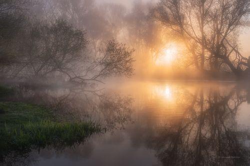 Майское утро в Заречье...