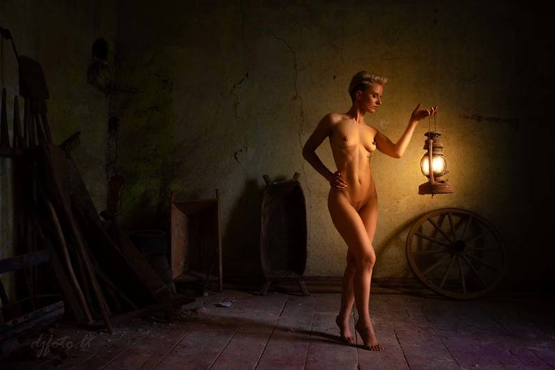 djfoto, nudevilnius, low key, low key nude, nude art, vilnius, urbex., abandoned Hide & Seekphoto preview