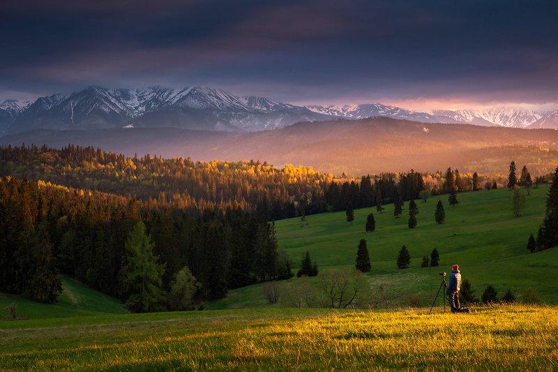 europe, mountains, slovakia, poland, sunset Photographerphoto preview