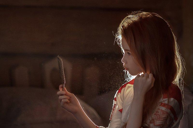 зеркало девочка   изба свет мой зеркальце photo preview