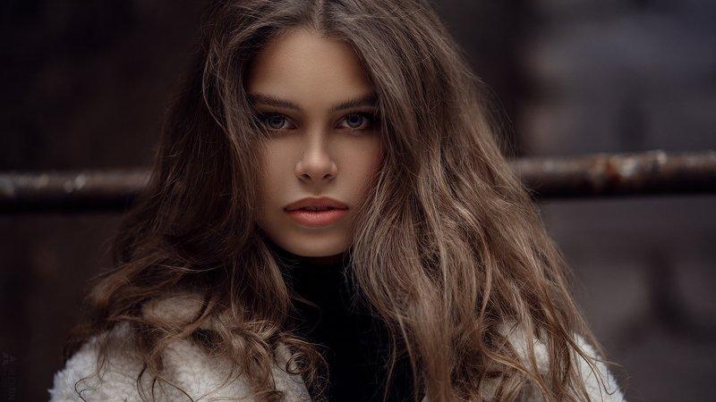 портрет, девушка, улица Настяphoto preview