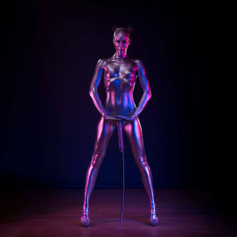 djfoto, nudevilnius, low key, low key nude, nude art, vilnius, fitness, metallic, metallography Metall Gamephoto preview
