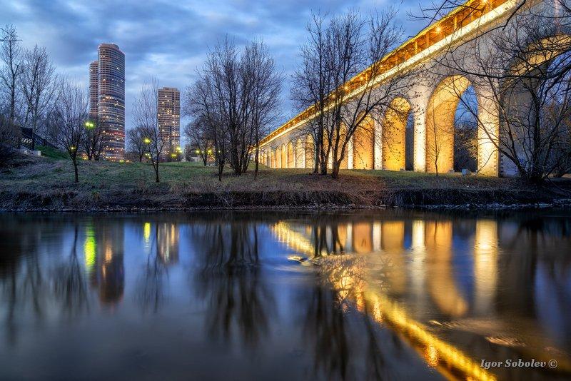 ростокинский акведук, москва, ростокино, мост Ростокинский акведукphoto preview