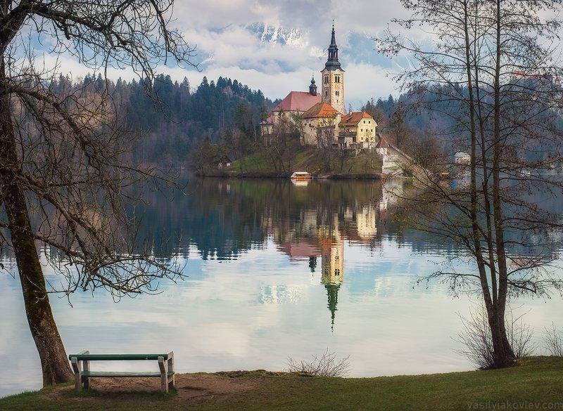 словения, фототур, василийяковлев, яковлевфототур Весна на озере Блед фото превью