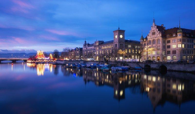 Zurich Sunrisephoto preview