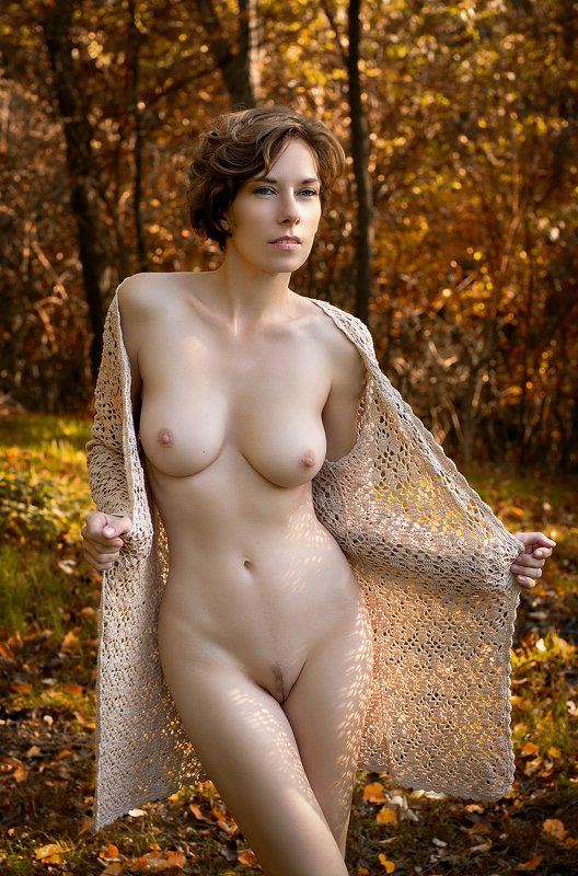 model, nude, naked, fine art, sexy, sensual, color, woman, female, body, legs, erotica, glamour, curves, nature, autumn, Erikaphoto preview