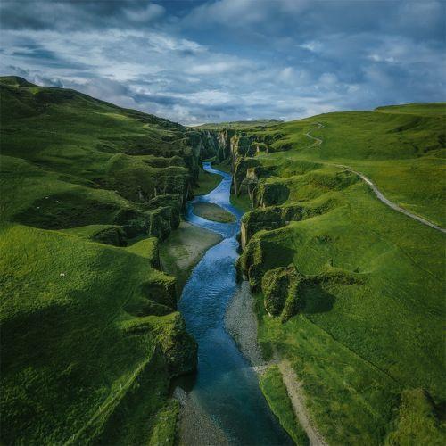 Зеленый каньон.