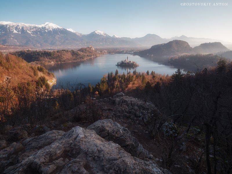 Словения, фототур, горы, Блед, bled,  Нежное утроphoto preview