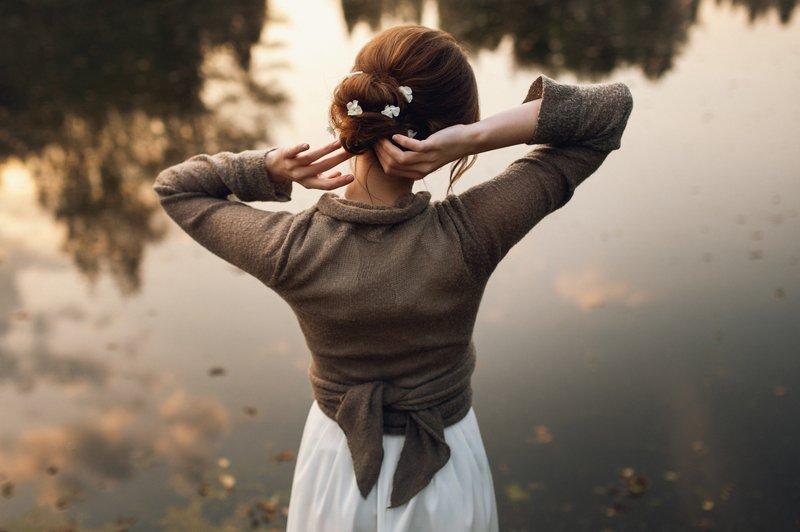 девушка, вечер, удмуртия, природа, портрет Вечер с Миленойphoto preview