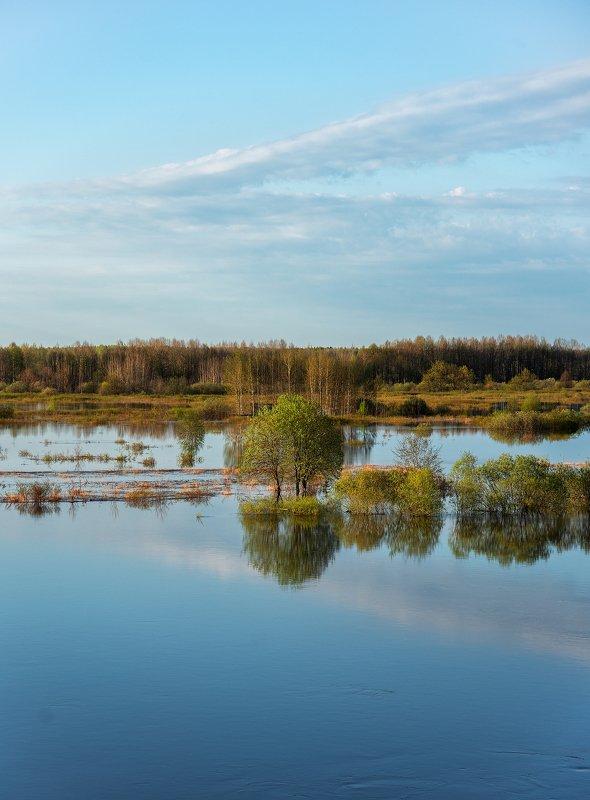 Ранним утром село Юрьево Котельничского районаphoto preview