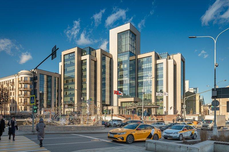 чистые пруды; архитектура; здания; центр; пейзаж; город Современная Москваphoto preview