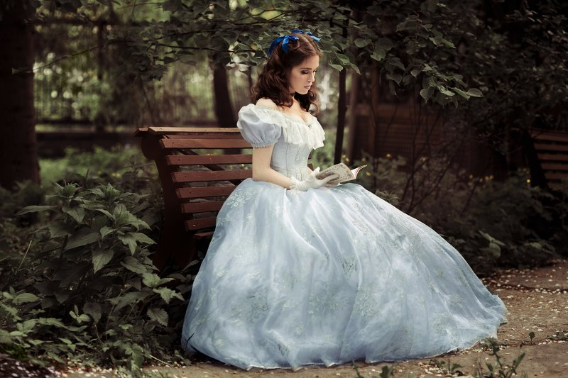 Скарлетт, платье, 19 век, 1860, историческия, реконструкция Скарлеттphoto preview