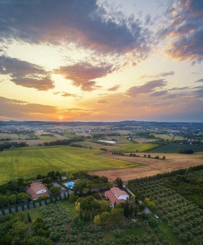 италия, фототур, яковлевфототур, василийяковлев Вечер в Эмилии-Романьеphoto preview