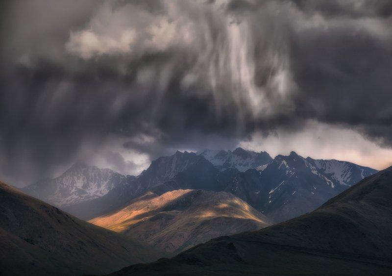 Непогода в горах.photo preview