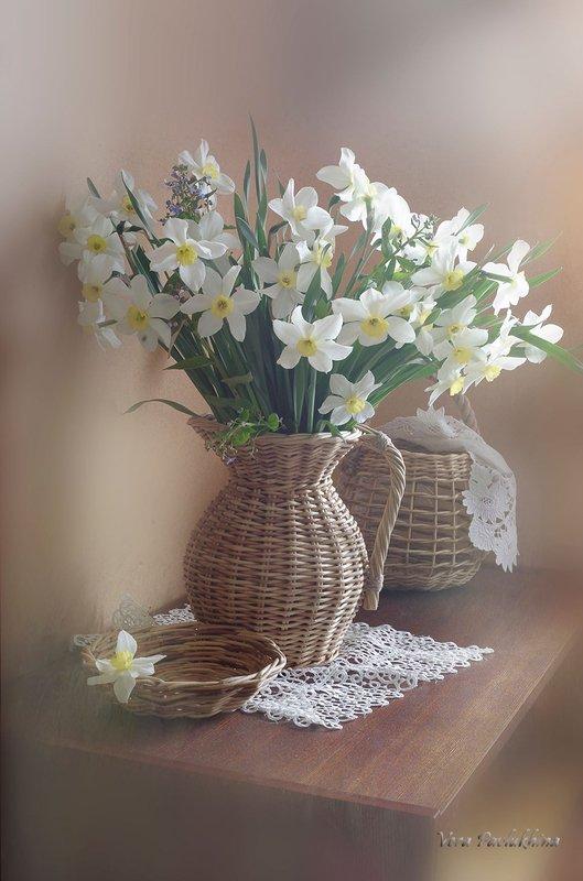натюрморт,цветы,венсна,вера павлухина, Утро туманное...photo preview