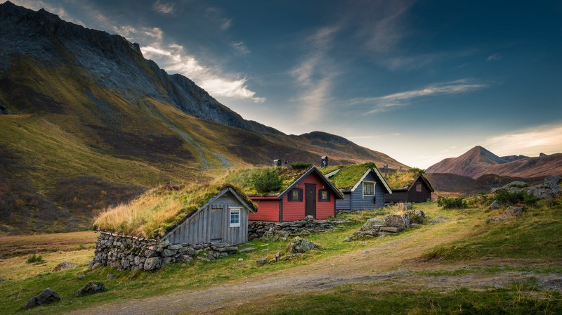 norway,landscape,cabin,mountains hyttephoto preview