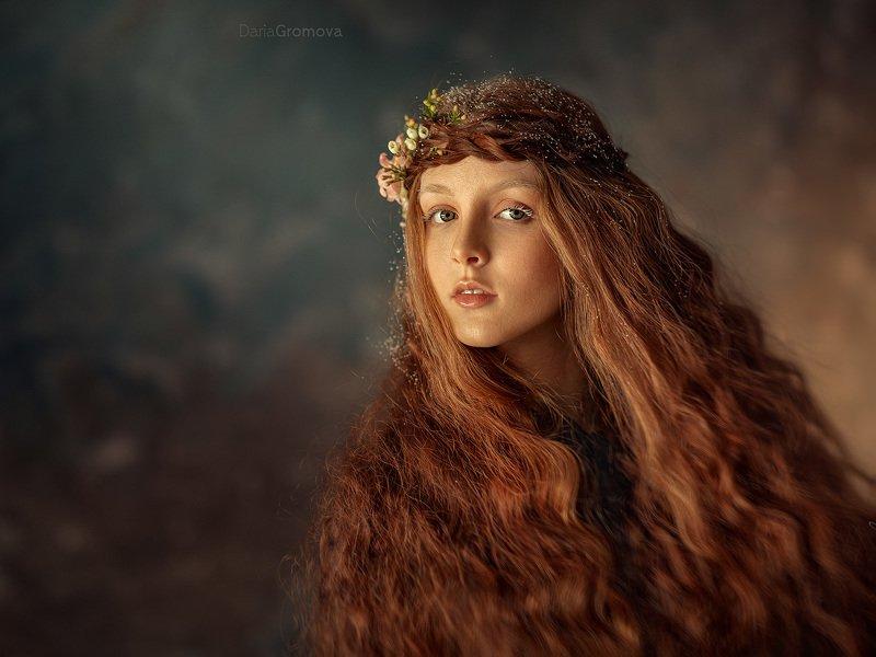 портрет, женский, портрет, дарья громова, фото, фотограф, фотосессия, фотоарт, фотопортрет,  Веснаphoto preview