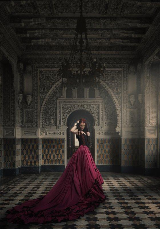 девушка, дворец Дворцовые тайныphoto preview