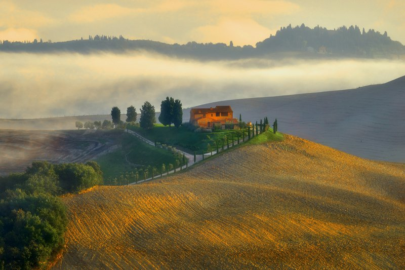 landscape Tuscanyphoto preview