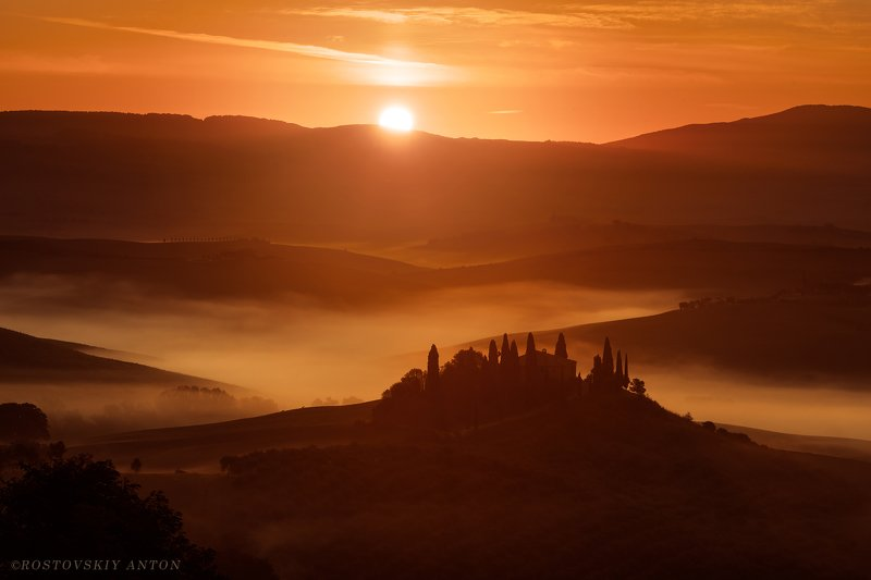 Италия, Тоскана, фототур Утро в Италииphoto preview