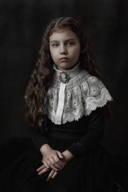 девочка портрет кудри волосы girl portrait hair Margaritaphoto preview