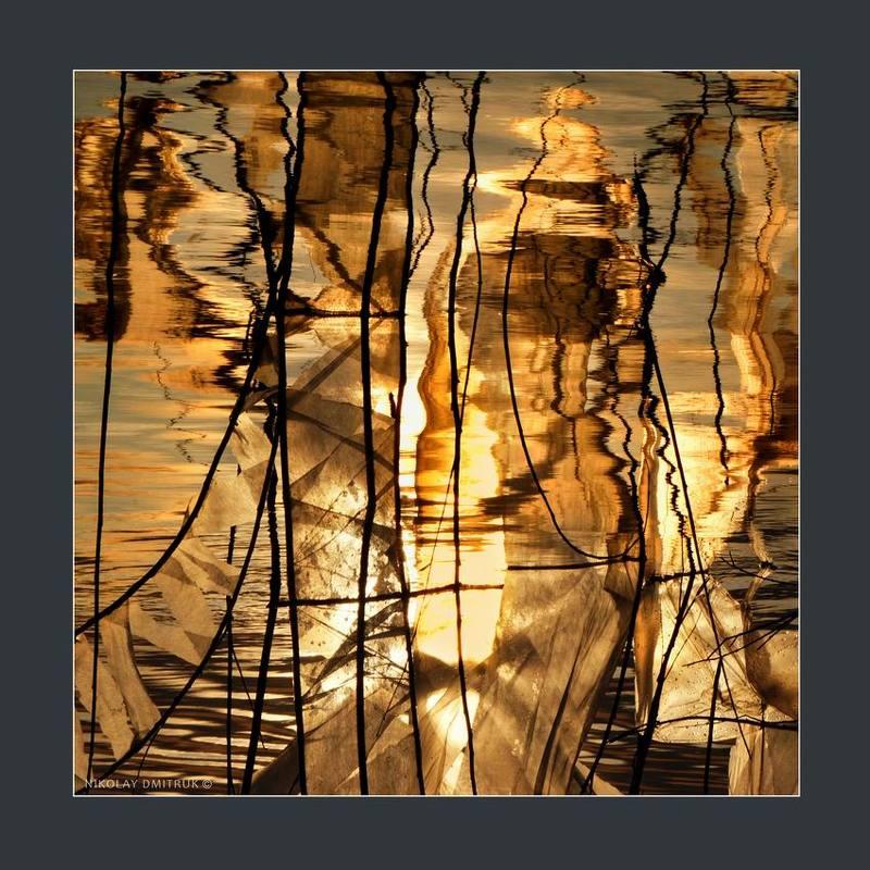 пейзаж ива река. авторская инсталляцияphoto preview