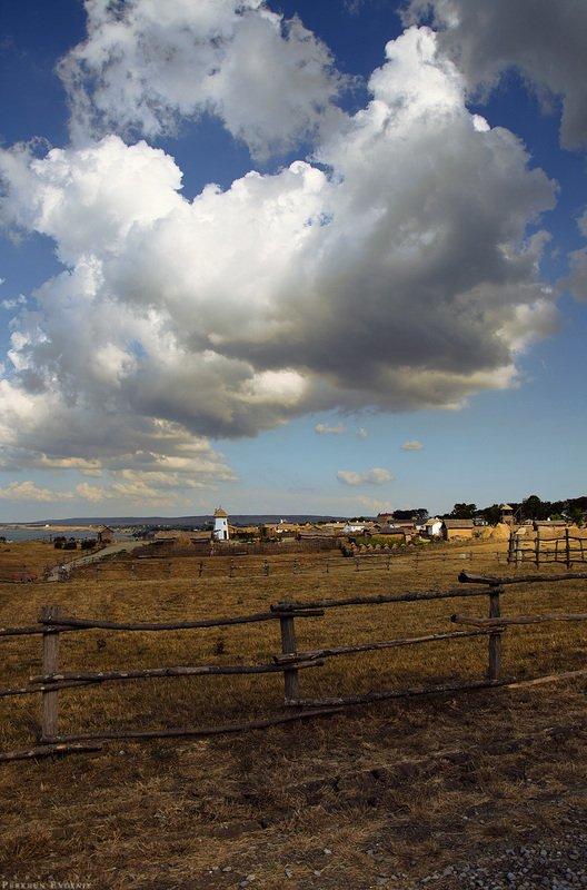 атамань, небо, облака, станица Атаманьphoto preview