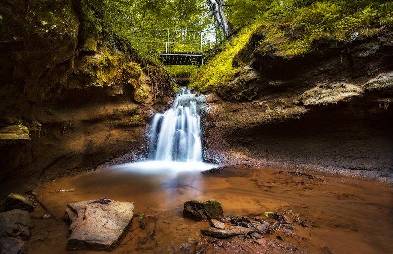 водопад, природа, речка, каньон, нечкино Нечкинский Водопадphoto preview