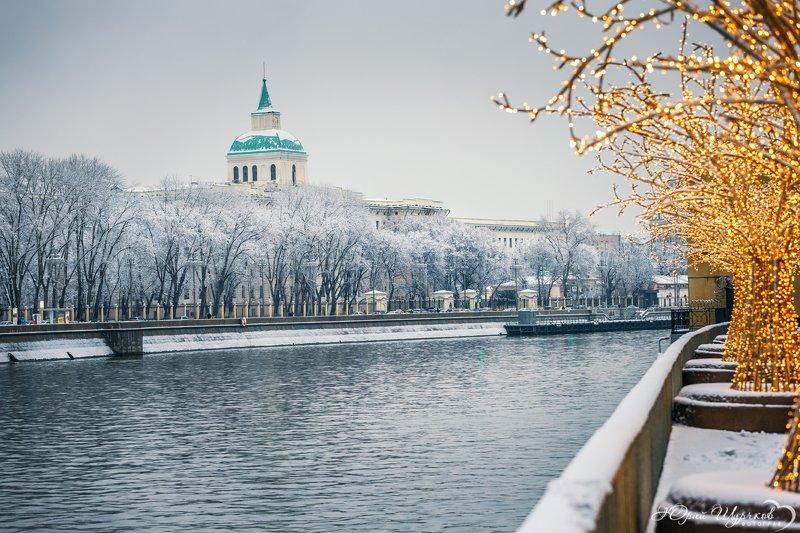 город; пейзаж; москва; река; снег; первый;  Первый снегphoto preview