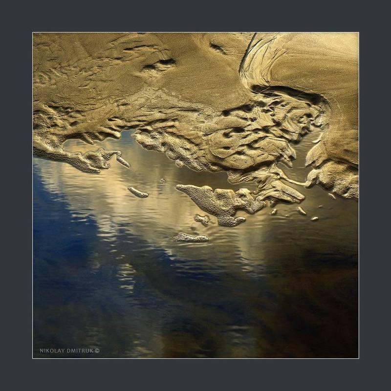 пейзаж золото реки.photo preview