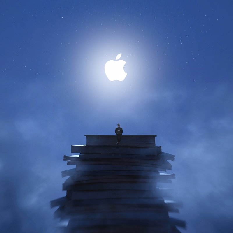 apple Creative, surreal, photoshop, adobe Applephoto preview