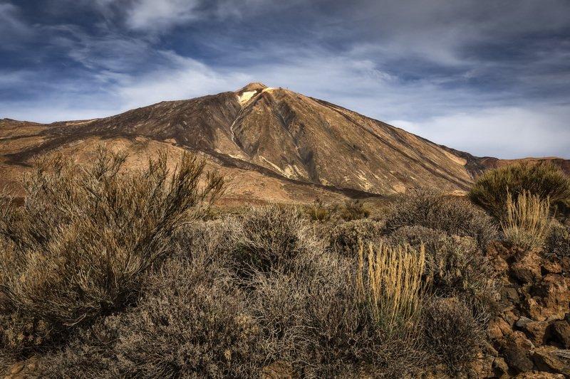 гора, вулкан, трава на подходеphoto preview