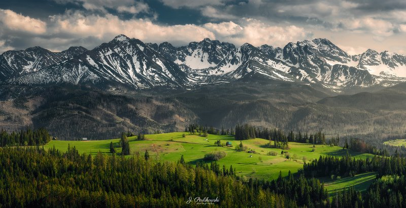 landscape, tatra mountains,panorama,spring,mountains, contrast Spring in the mountainsphoto preview