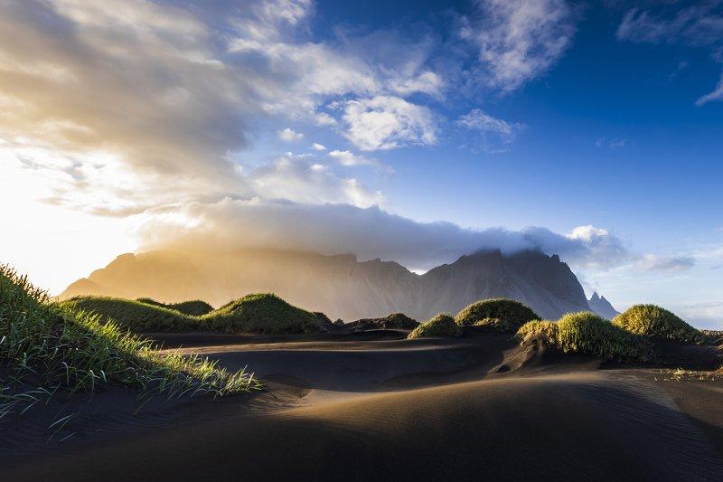 Iceland  Vestrahorn  фото превью