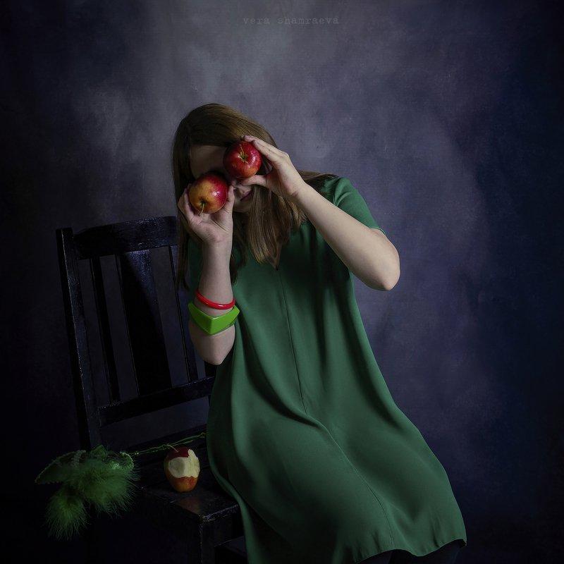 яблоки девочка вера шамраева постановка photo preview