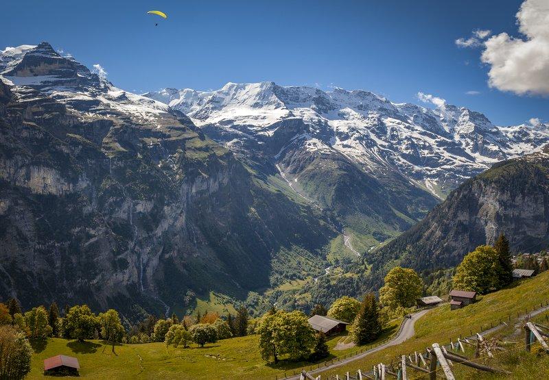 горы, альпы улетелphoto preview