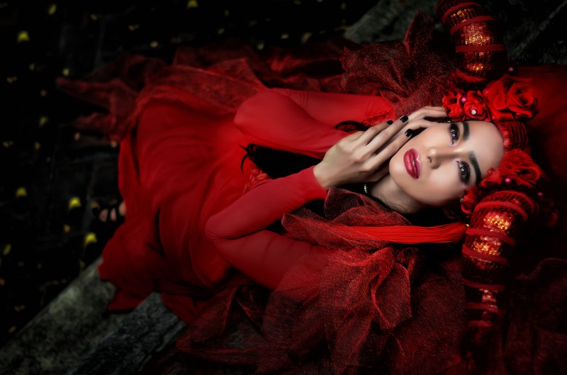 #woman #red #fashion #beauty  photo preview