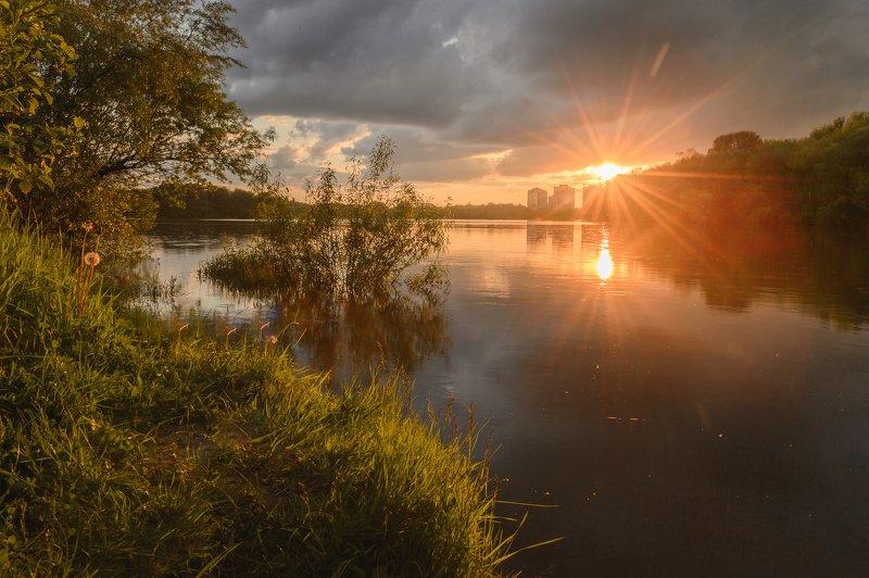 пейзаж,природа,россия,закат,вечер,красота \
