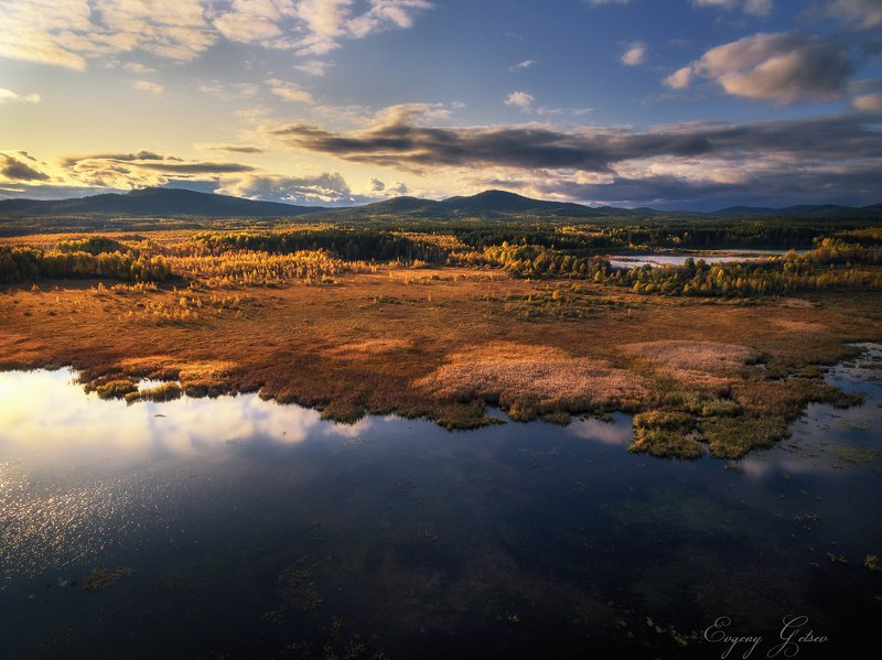 горы, урал, осень, Уральская осеньphoto preview