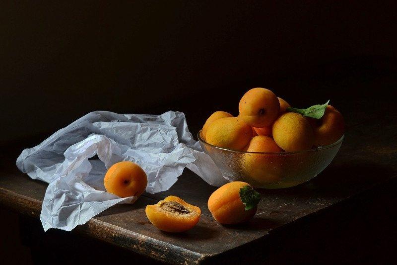 абрикосы, лето, жёлтый, фрукты Абрикосы.photo preview