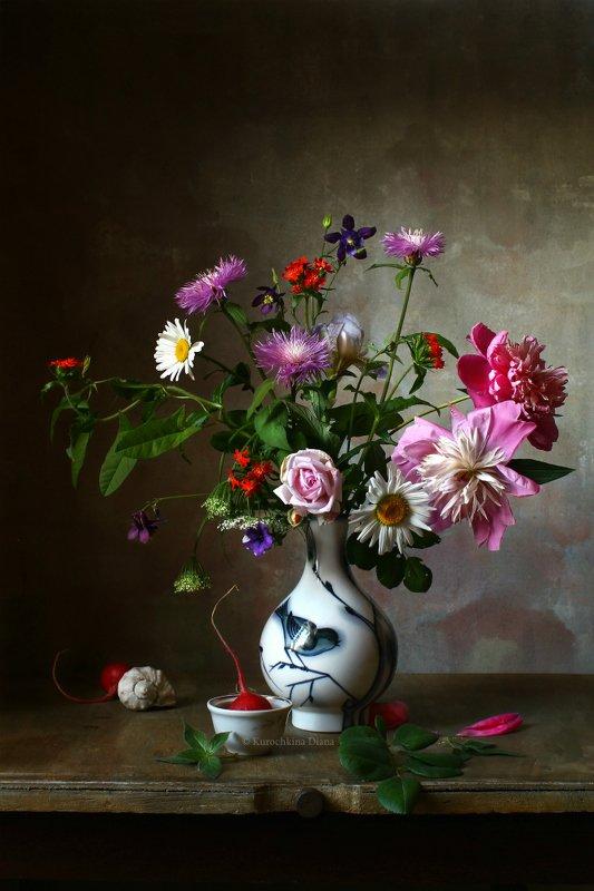 натюрморт, цветы, букет, июнь ***photo preview