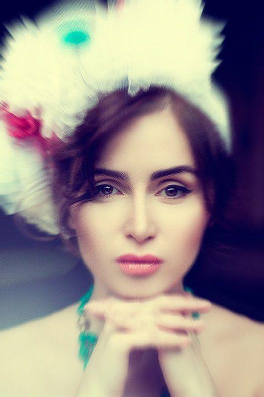 портрет, цветы, девушка, beauty Ванильные цветыphoto preview