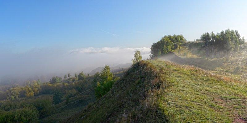 утро, берег реки Утро.photo preview