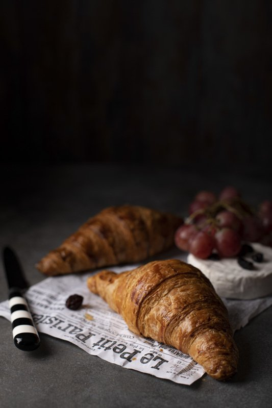food photography croissant French cheese Bree grapesbakery foodie still life flatlay Croissantsphoto preview