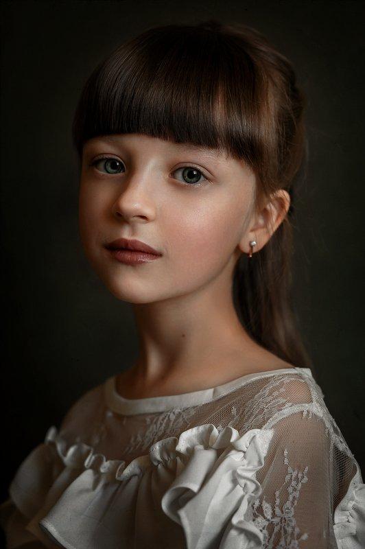 девочка, дети, портрет, детский портрет Портрет девочкиphoto preview