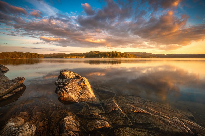 norway,sunset,sky,lake,reflections,solorful, Inspirationphoto preview