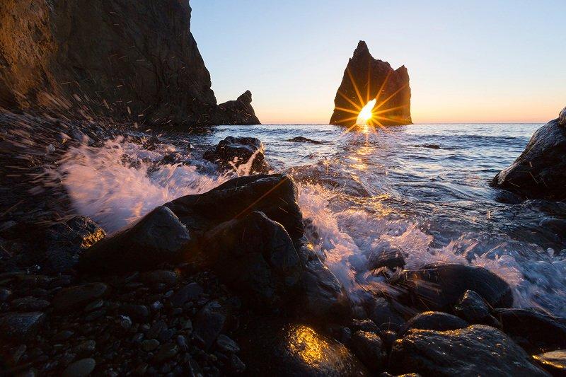 крым, карадаг, черное море, пляж, волна, пейзажи крыма, коктебель, золотые ворота, фотограф ялта, фотограф крым photo preview