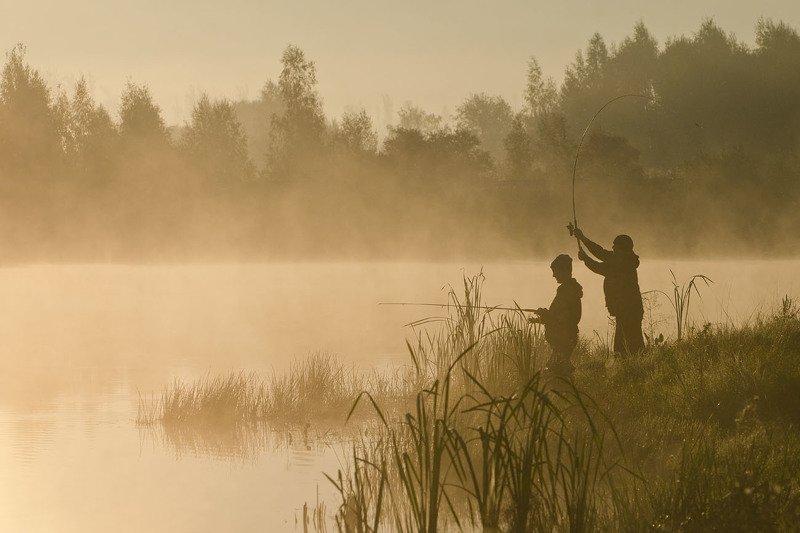 рыбалка, рыбаки, утро, туман, коптево Всё, что сердцу дорого...photo preview