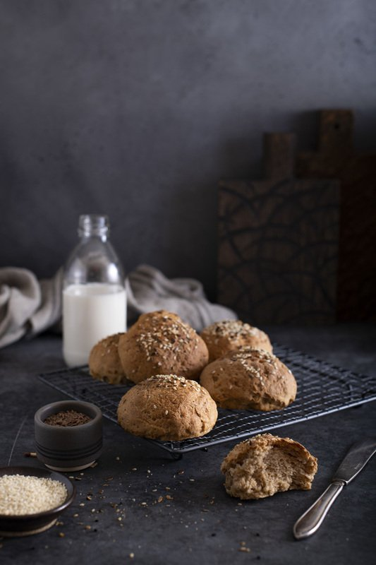 food photography cookies Whole wheat buns bakery foodie still life Whole wheat bunsphoto preview